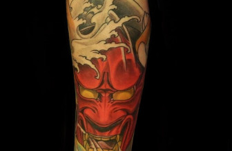 40 Intriguing Japanese Mask Tattoo Designs – A Rich Cultural Heritage