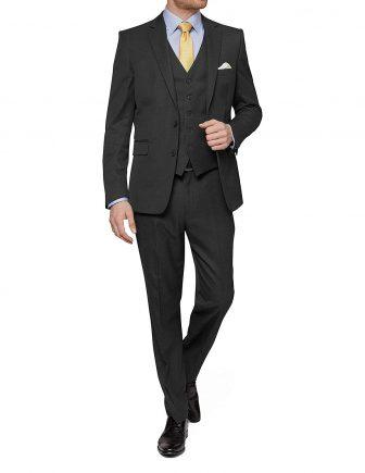 MDRN Uomo Mens Slim Fit 3 Piece Suit