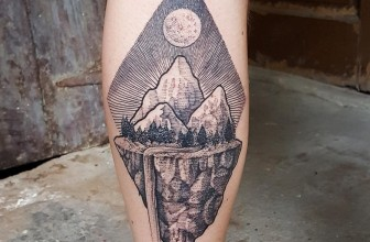 70 Impressive Mountain Tattoo Designs – Keeping In Touch with Nature
