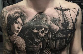 60 Masterful Pirate Tattoo Ideas – Rulers of the Seas
