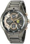 Scuderia Ferrari Men's Quartz Resin Casual Watch, Color Black (Model:...