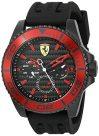 Scuderia Ferrari Men's'XX KERS' Quartz Stainless Steel and Silicone...