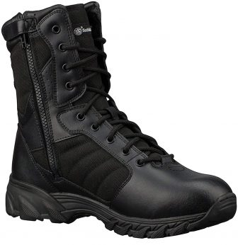 Smith & Wesson Footwear Men's Breach 2.0 Tactical Side Zip Boots - 8