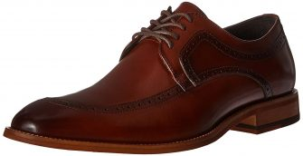 Stacy Adams Men's Dwight Moc-Toe Lace-Up Oxford