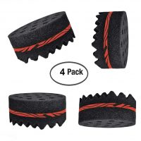 Two Sides Round Shape Afro Braid Style Coil Wave Hair...