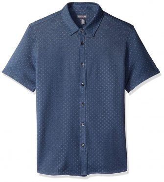 Van Heusen Men's Never Tuck Short-Sleeve Shirt